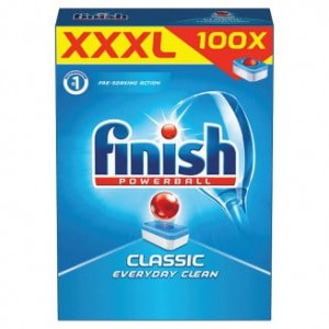 Finish Classic Tabletki do Zmywarki XXXL 100szt