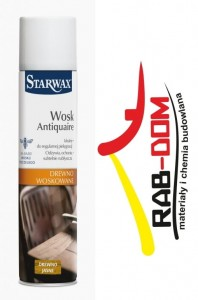 StarWax Antiquaire aerozol 300 ml Drewno Jasne