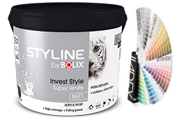 STYLINE BOLIX INVEST STYLE SUPER WHITE 10L KOLORY